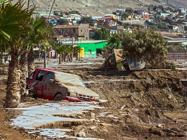 Death toll in Chile floods rises to 24, 69 missing
