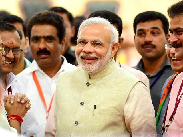 Prime-Minister-Narendra-Modi-at-the-inauguration-of-the-two-day-national-executive-meeting-of-the-BJP-in-Bengaluru-PTI-Photo