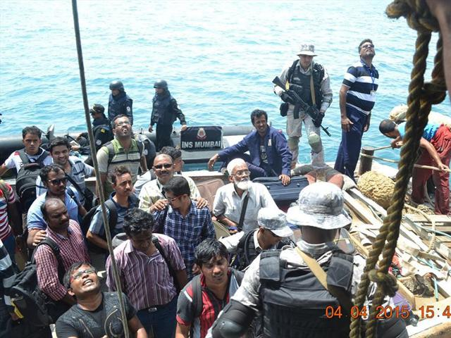 Indians-rescued-from-war-torn-Yemen-arrive-in-Mumbai