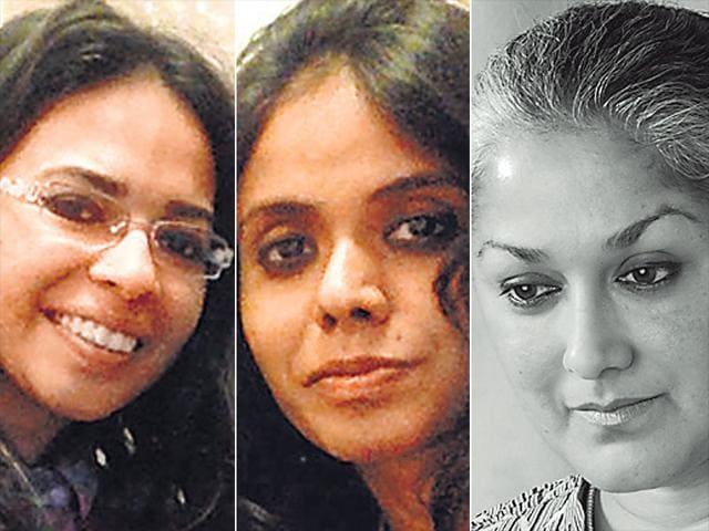 Author-Samhita-Arni-poet-Meena-Kandasamy-and-founding-editor-of-literary-journal-Out-of-Print-Indira-Chandrashekhar-have-set-up-the-website-Mapping-Sexual-violence-mappingsexual-violence-appspot-com