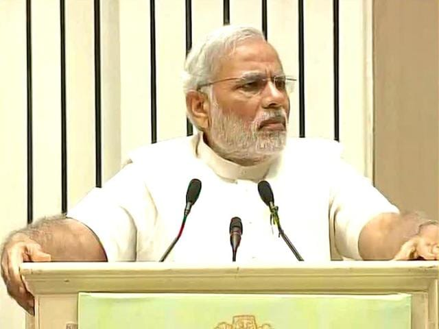 PM-Narendra-Modi-speaks-at-the-inauguration-of-a-two-day-conference-of-state-environment-and-forest-ministers-ANI-Photo