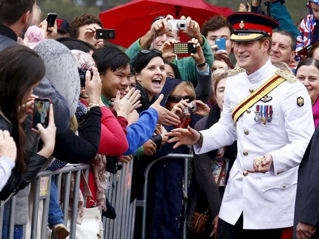 Prince Harry,selfie,Australia