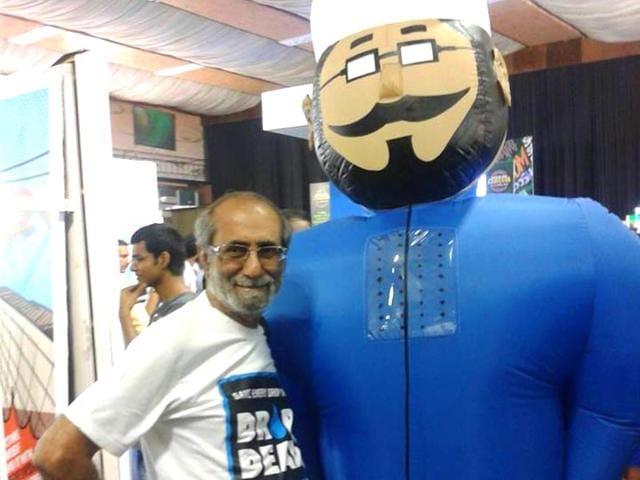 Aabid-Surti-at-Comic-Con-India-2015-Bengaluru-Photo-Aabid-Surti-Facebook-page