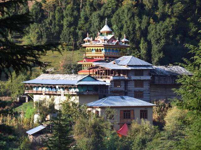 Kullu,fire incident,Shangchul Mahadev temple