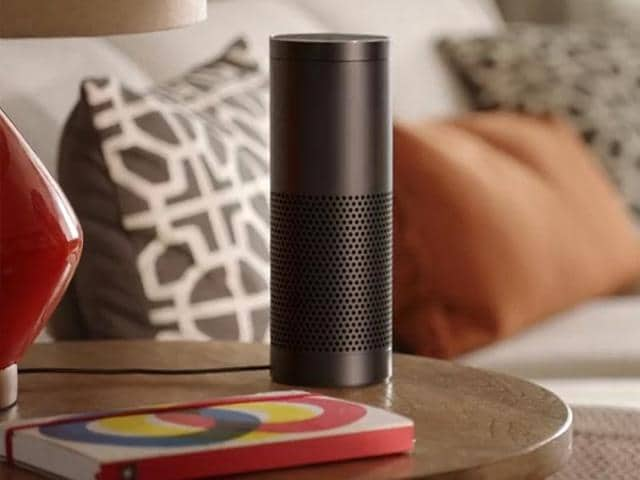 Amazon-Echo-which-responds-to-voice-commands-and-answers-questions-can-now-turn-compatible-lights-on-and-off-control-fans-heaters-and-other-devices-Photo-AFP