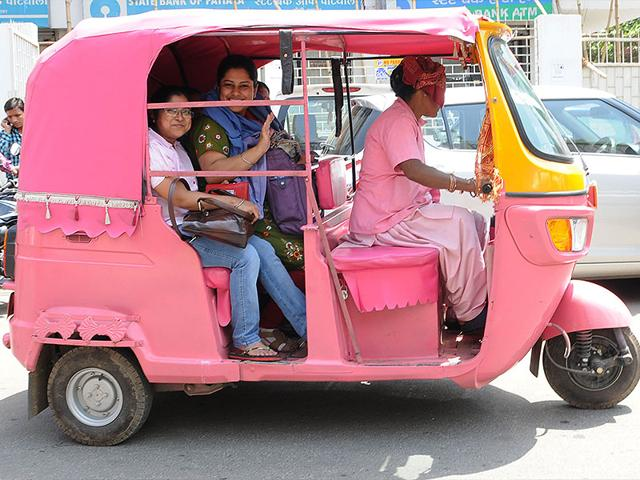 Pink Auto,Jharkhand,women-only Pink Auto
