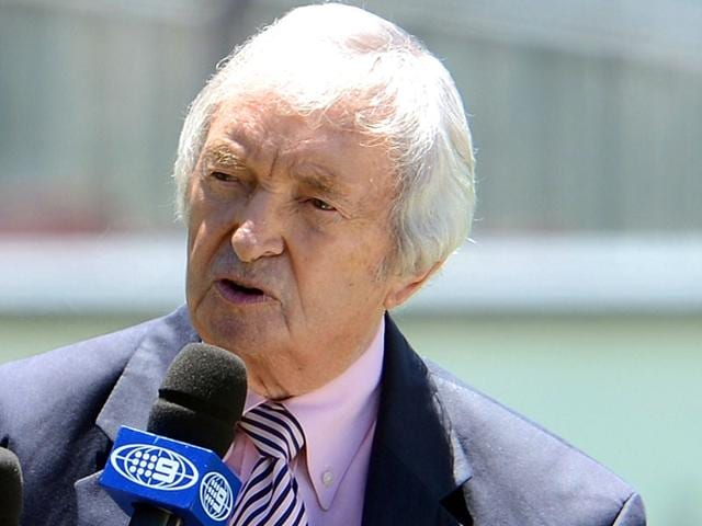 A-file-photo-of-Australian-cricketer-and-commentator-Richie-Benaud-hosting-a-talk-show-during-the-lunch-break-on-of-a-Test-match-between-Australia-and-Sri-Lanka-at-the-Sydney-Cricket-Ground-AFP-Photo