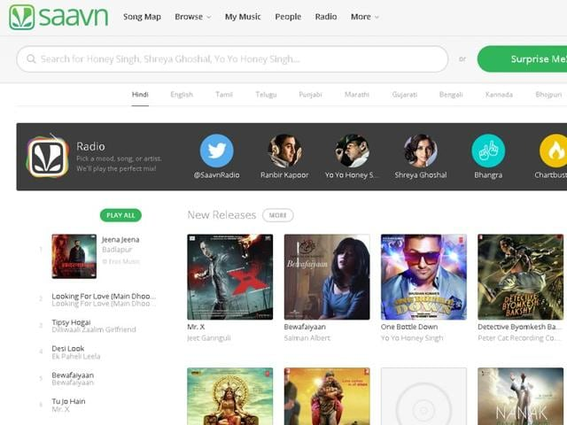 Music streaming service Saavn update allows tagging | tech