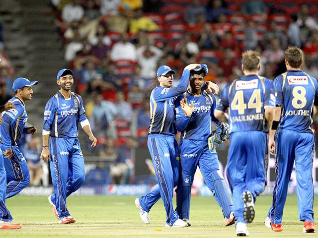 The-latest-revelation-of-an-approach-made-to-a-Rajasthan-Royals-player-will-raise-fresh-questions-on-the-integrity-of-the-IPL-Pratham-Gokhale-HT-Photo