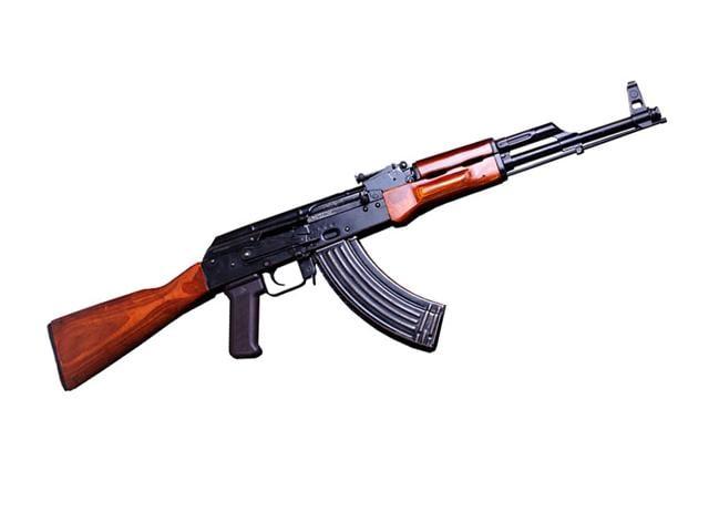 Delhi Police,AK 47