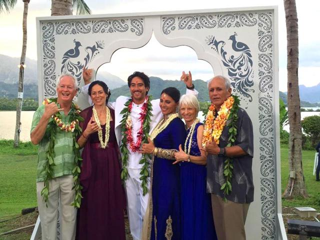 Image result for Tulsi Gabbard's wedding