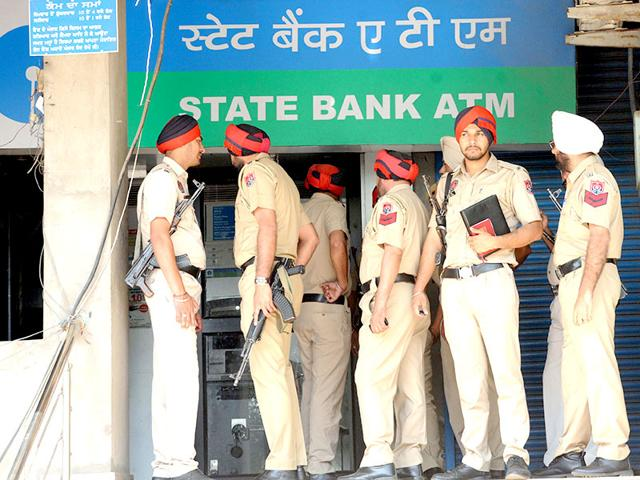 ATm,robbery,Patiala