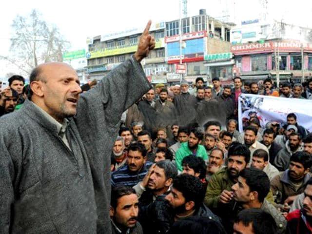 Kashmiri Pandits,Jammu and Kashmir,Engineer Rashid