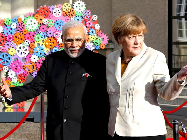 German-chancellor-Angela-Merkel-and-Prime-Minister-Narendra-Modi-attend-the-opening-ceremony-of-the-Hannover-Messe-Reuters-Photo