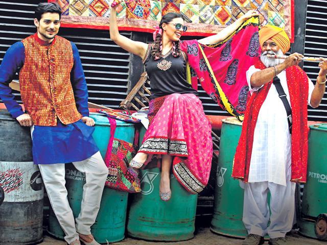 Baisakhi Fashion,What To Wear Baisakhi,Indian Traditional Wear Tips