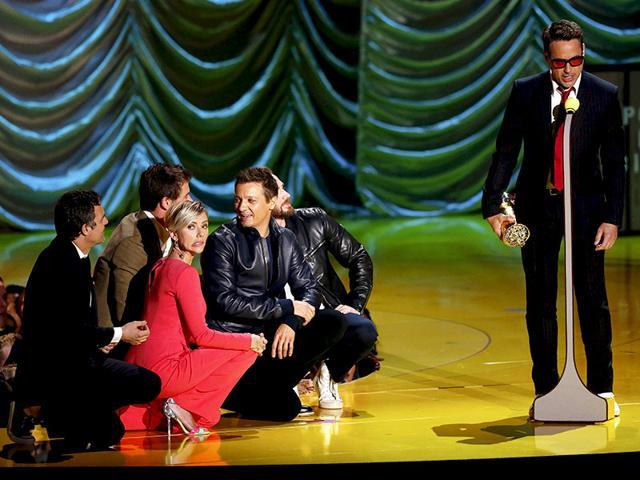 MTV Movie Awards,Robert Downey Jr,Shailene Woodley