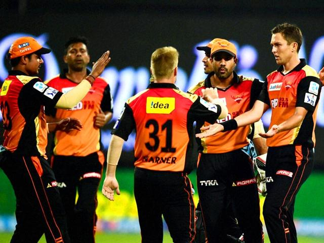 Sunrisers-Hyderabad-bowler-Trent-Boult-celebrates-the-fall-of-Royal-Challengers-Bangalore-batsman-AB-De-Villiers-during-IPL-8-match-at-Chinnaswamy-Stadium-in-Bengaluru-on-Monday-PTI-Photo