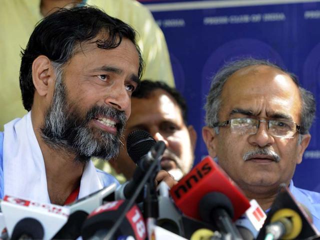 Yogendra Yadav says Kejriwal's actions immature, counterproductive