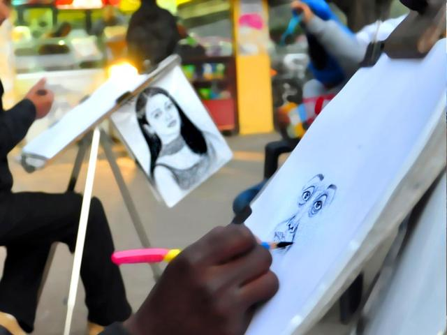 Sketch artists were a hit at the sukhna