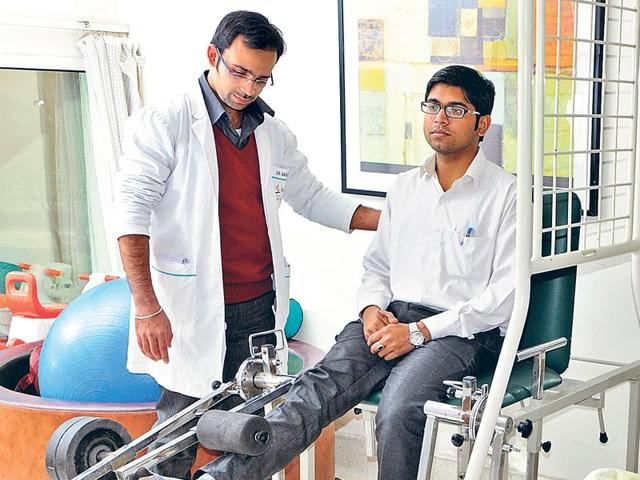 The-scope-of-a-physiotherapist-s-work-has-increased-over-time-Besides-giving-preventive-and-curative-therapies-to-those-discharged-from-hospital-they-also-help-with-rehabilitation-of-chronic-patients-says-Navneet-Singh-Photo-Subrata-Biswas