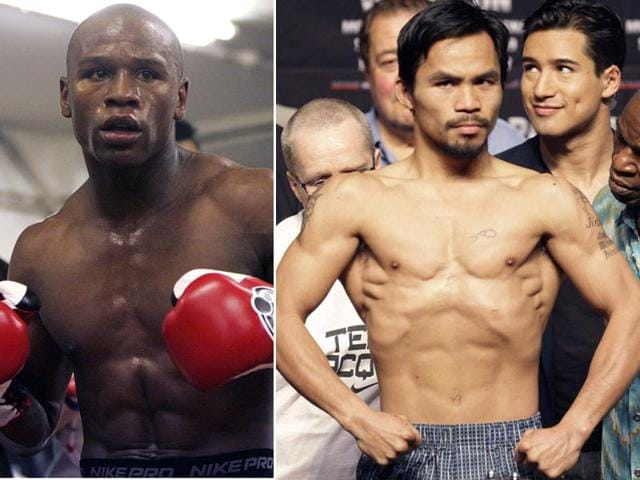 Manny-Pacquiao-R-has-always-believed-he-can-do-what-47-other-fighters-before-him-have-failed-to-do-beat-Floyd-Mayweather-L-in-the-ring-AP-Photos
