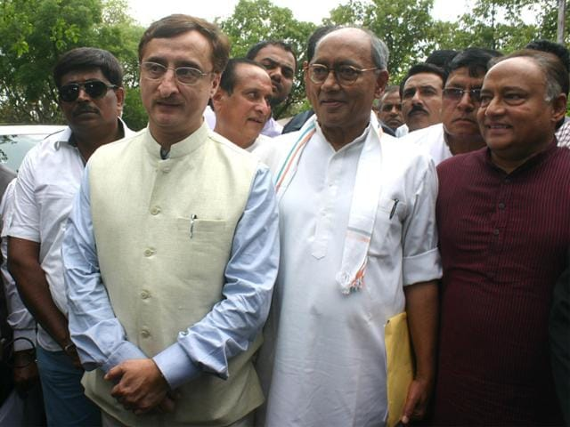 Digvijaya Singh,President of India,PEB scam