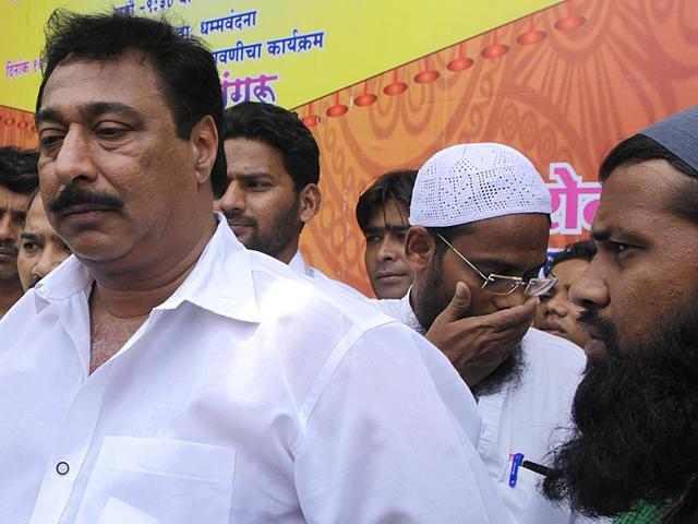 AIMIM-candidate-Rehbar-Khan-left-got-15-050-votes-in-the-Bandra-East-by-polls-in-Mumbai-Kalpak-Pathak-HT-photo