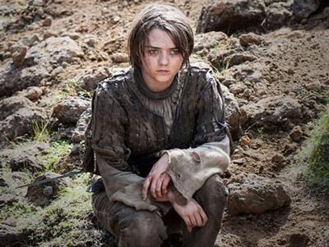Maisie Williams,Arya Stark,Game of Thrones