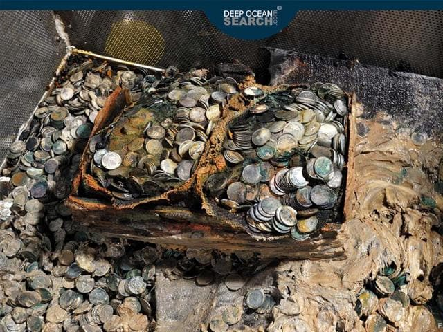 The-wreck--British-steampship-carrying-tons-of-Indian-1-rupee-silver-coins-to-help-fund-Britain-in-World-War-II--has-been-discovered-in-a-record-deep-dive-operation-Photo-Courtesy-Deep-Ocean-Search