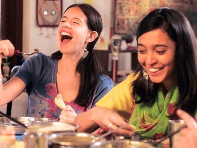 Sayani-Gupta-and-Kalki-Koechlin-in-a-still-from-Margarita-With-A-Straw