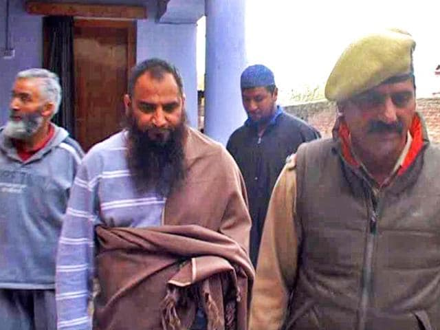Separatist-leader-Masarat-Alam-was-arrested-by-J-K-Police-from-his-residence-in-Srinagar-HT-Photo