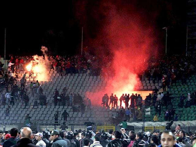 2012 stadium riot,Egypt,death sentence