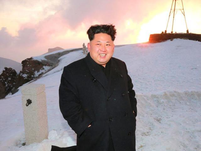 Kim Jong-Un,North Korea,highest mountain