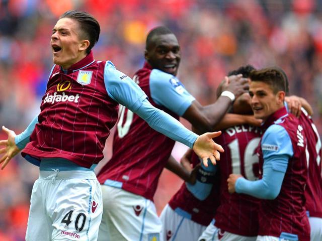 Aston-Villa-s-English-midfielder-Jack-Grealish-celebrates-Villa-s-second-goal-during-the-FA-Cup-semi-final-between-Aston-Villa-and-Liverpool-at-Wembley-stadium-in-London-AFP-PHOTO