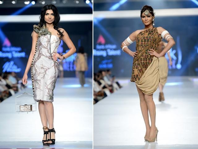 Models-walk-the-ramp-at-Bank-Alfalah-Rising-Talent-Show-in-Lahore-Shutterstock