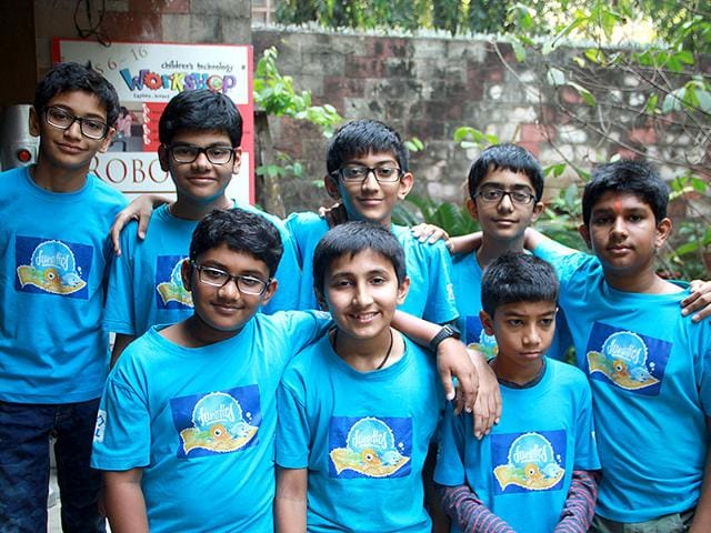 The-video-game-Mayday-Returns-was-developed-by-an-eight-member-team-of-Aayush-Shah-Atharva-Patankar-Daivik-Shah-Jai-Jariwala-Shiv-Mehta-Tanay-Nistala-Vanshaj-Ajmera-and-Yashish-Mohnot-students-of-Classes-4-to-8