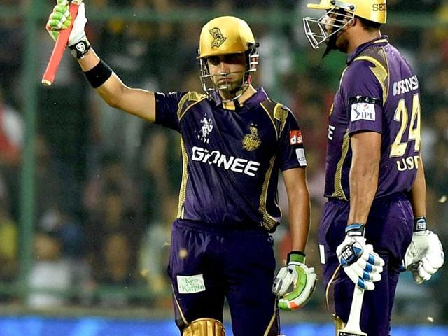 KKR-lost-a-few-early-wickets-but-Gautam-Gambhir-and-Yusuf-Pathan-stitched-a-65-run-fourth-wicket-stand-to-help-the-defending-champions-canter-home-in-18-1-overs-PTI-Photo