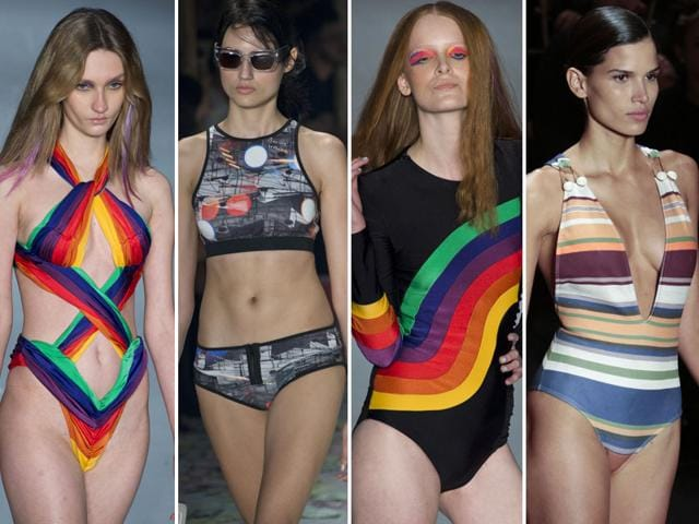 Rainbow-colors-and-stripes-were-the-order-of-the-day-at-Sao-Paulo-fashion-week-AFP