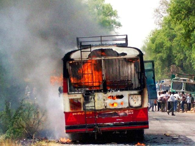 A-bus-catches-fire-in-Amethi-PTI-Photo