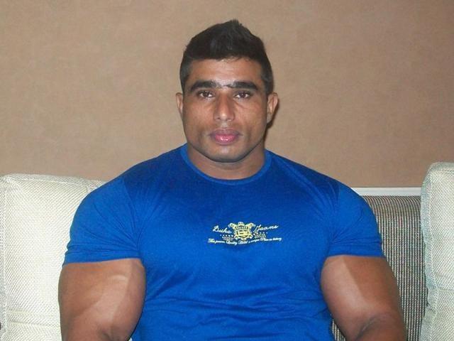 Pathankot,Sham Singh Shera,disabled bodybuilder