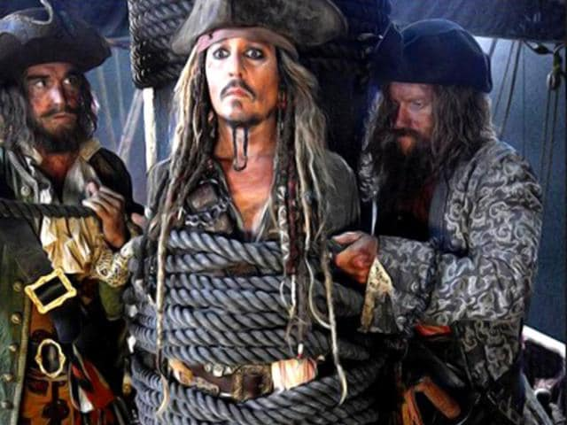 Johnny Depp,Captain Jack Sparrow,Pirates of the Caribbean