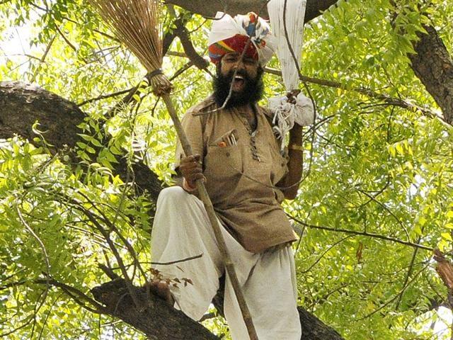 Rajasthan farmer,Gajendra Singh,suicide