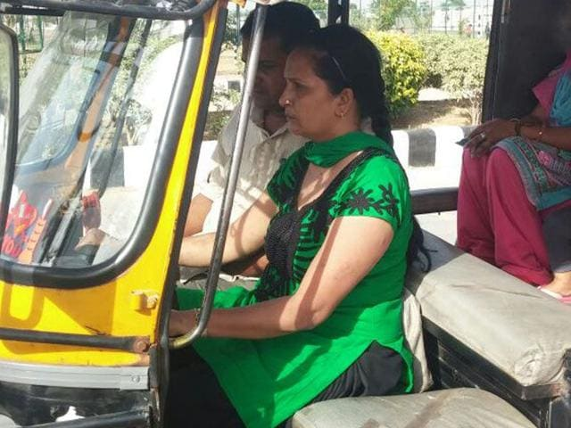 The-project-undertaken-by-the-Rohtak-traffic-police-in-collaboration-with-the-Road-Safety-Organisation-RSO-will-not-only-ensure-safe-ride-for-female-commuters-but-also-provide-an-opportunity-to-jobless-women--HT-Photo