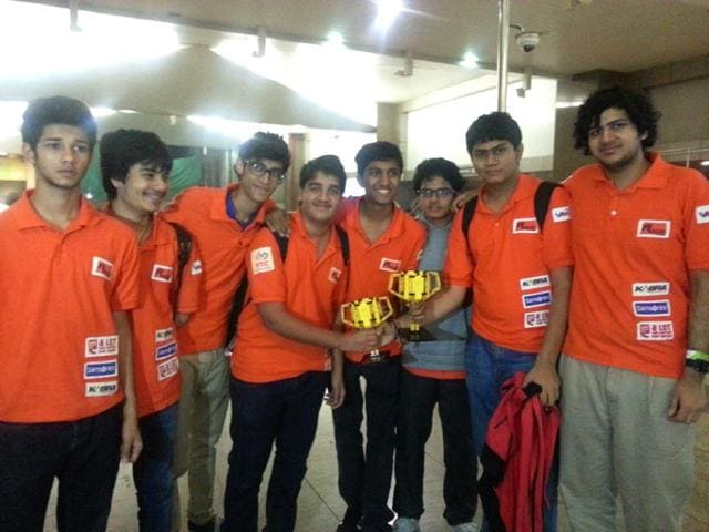 International robotic competition,Mumbai students,FIRST tech challenge