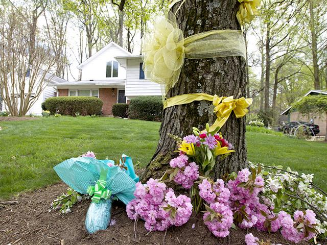 Flowers-and-ribbons-adorn-a-tree-outside-the-Weinstein-familyhouse-in-Rockville-US-President-Barack-Obama-took-full-responsibility-for-the-counterterror-missions-and-offered-his-grief-and-condolences-to-the-families-of-the-hostages-Warren-Weinstein-of-Rockville-Maryland-and-Giovanni-Lo-Porto-who-were-inadvertently-killed-by-CIA-drone-strikes-early-this-year--AP-Photo