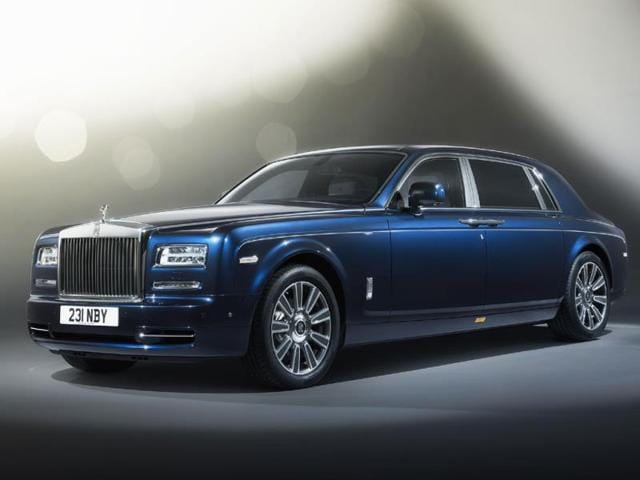 Rolls-Royce,Rolls-Royce Phantom Limelight,British luxury car