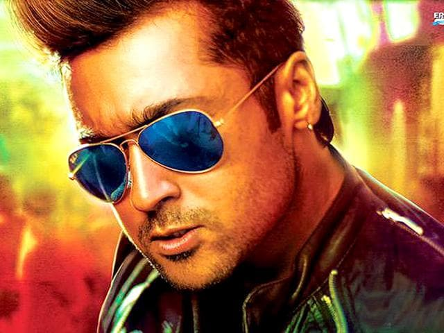 Suriya Channels Grungy Cool In Masss New Look Regional
