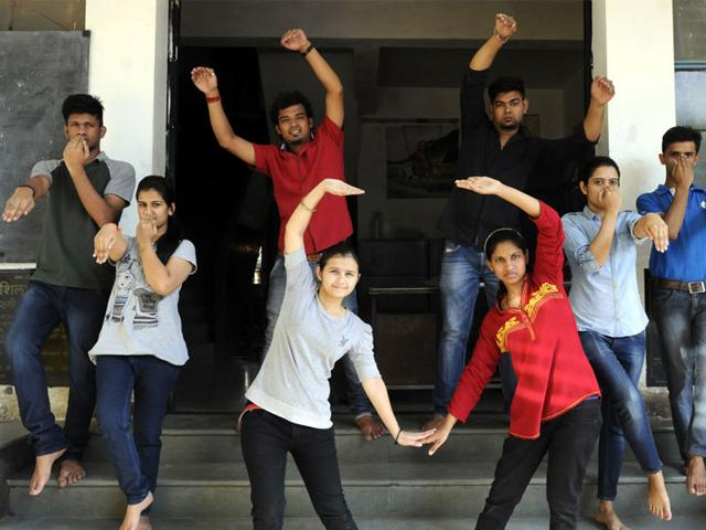 The-students-will-be-performing-seven-to-eight-cultural-acts-at-the-three-day-event-in-Mauritius-Arun-mondhe-HT-photo
