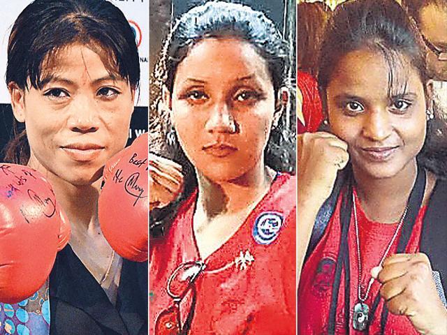 MC Mary Kom,Swapna Boruah,B Yasoda Reddy