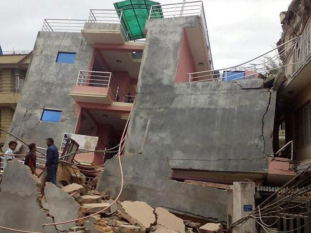 Buildings-collapsed-after-massive-earthquake-hit-Nepal-Photo-credit-Jaw-Knock-on-Twitter